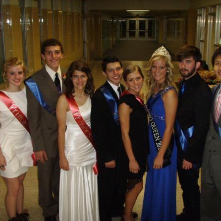 Lakeland Homecoming Court 2011
